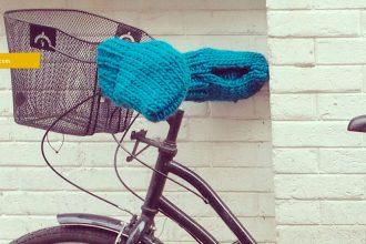 Tricoter des gants pour guidon vélo au tricot