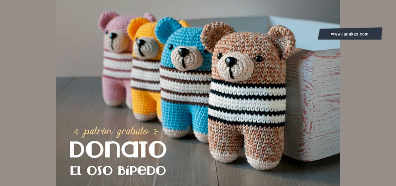 Amigurumi New York : Tuto amigurumi gratuit : Donato lourson au crochet ...