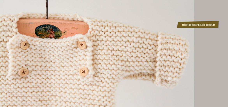 Tricoter un pull rapide pour bébé