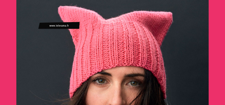 Tuto gratuit tricot de bonnet Pussy Hat project