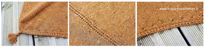 Tricoter un châle en triangle - tuto tricot de châle gratuit