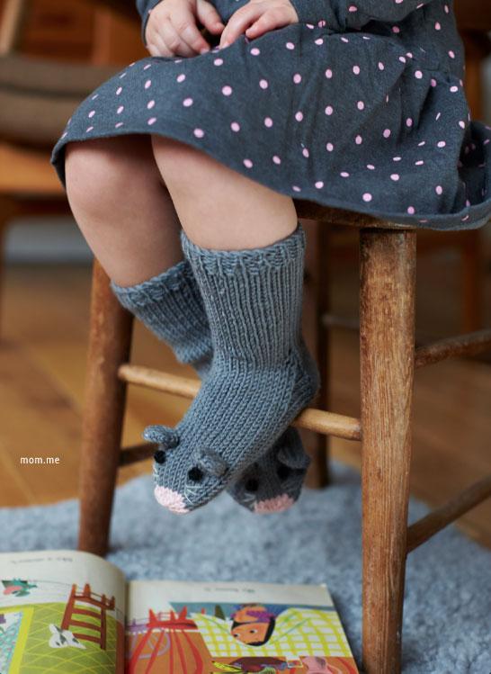 Tricoter des chaussettes fantaisie pour enfants