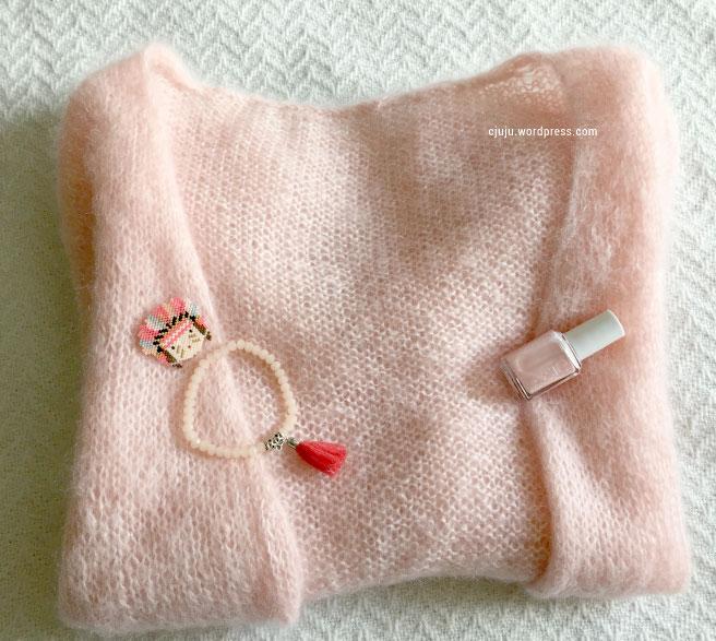 Tricoter un pull mohair pour femme