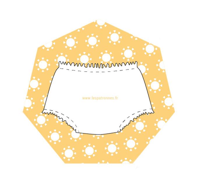 DIY couture pour réaliser une culotte bouffante pour bébé - 3 à 18 mois