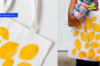 DIY tutoriel facile et rapide pour personnaliser mon tote bag vierge