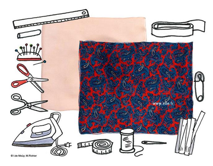 Tutoriel simple et rapide pour réaliser une jupe maxi fluide pour femme
