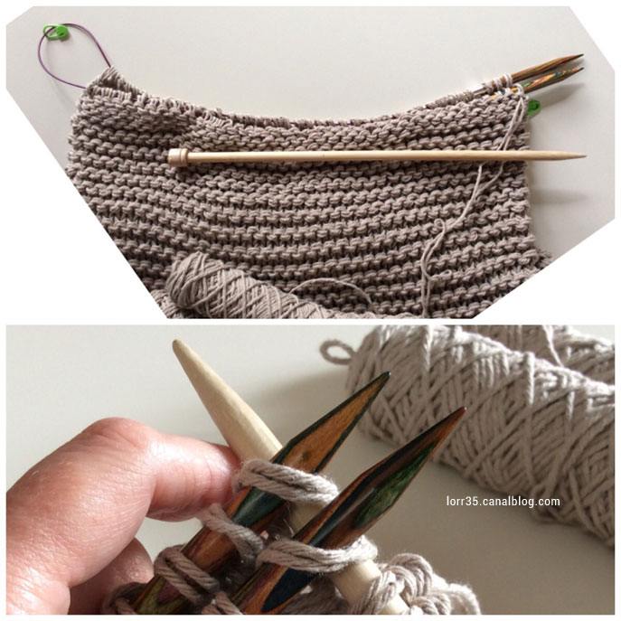 Tutoriel facile pour tricoter un sac sans coutures pour les débutants